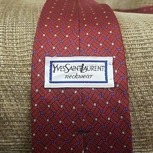 Yves Saint Laurent neck tie
